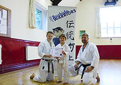 Children's Karate course completes