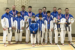 Southern Region Championships competitors from Backwell Karate