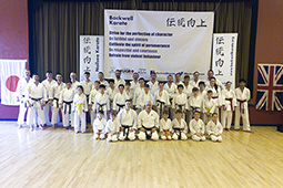 Special course with Sensei Sherry